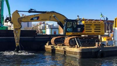Precise environmental dredging with NaviSuite Uca