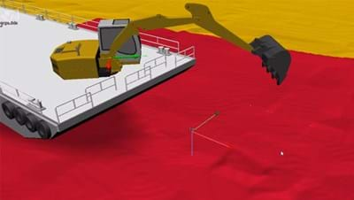 NaviSuite Uca plug and play 3D software for dredging operations