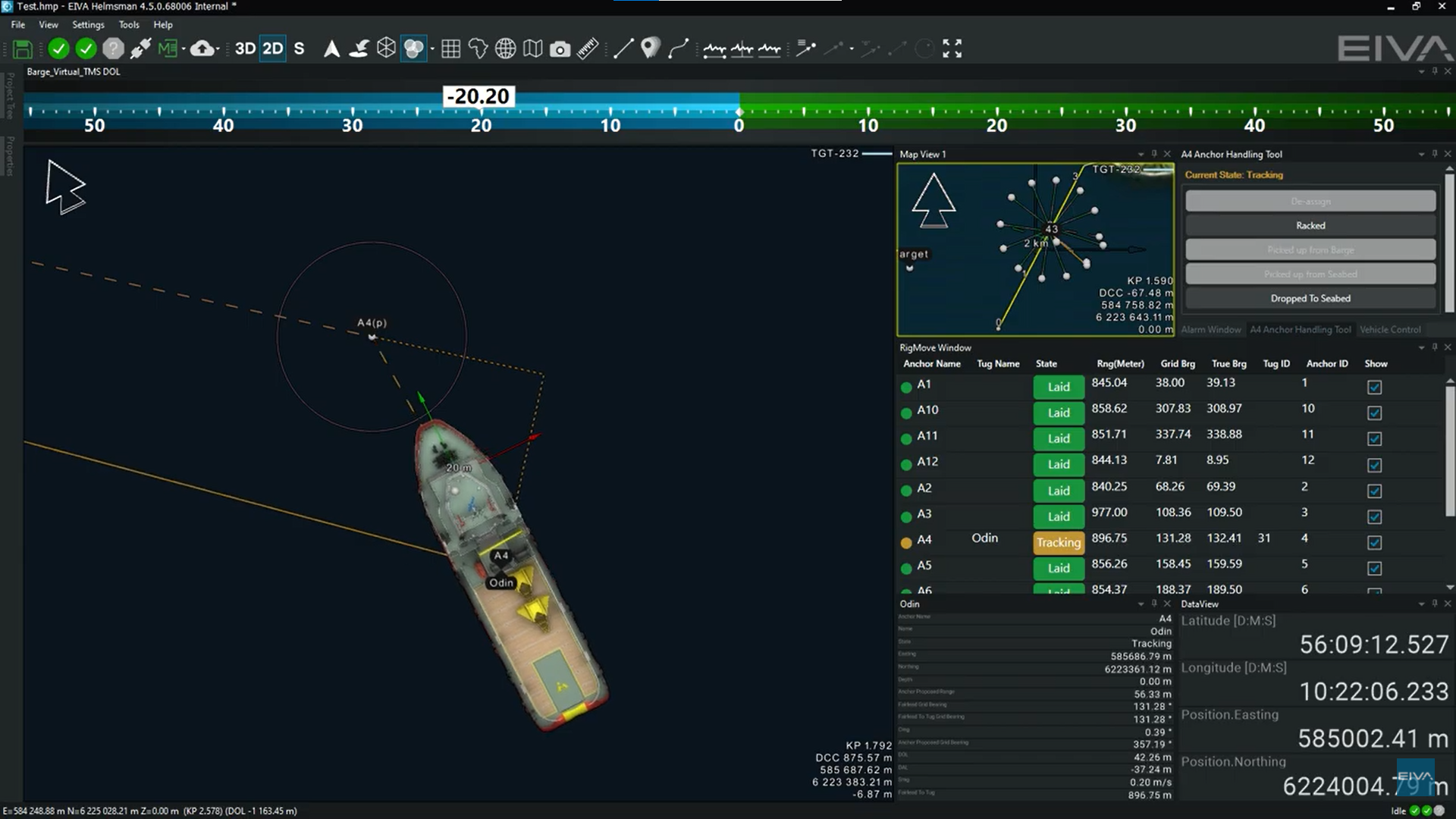 NaviPac 4.5 is the latest update to our positioning and navigation software, with new features such as rig move and tug management