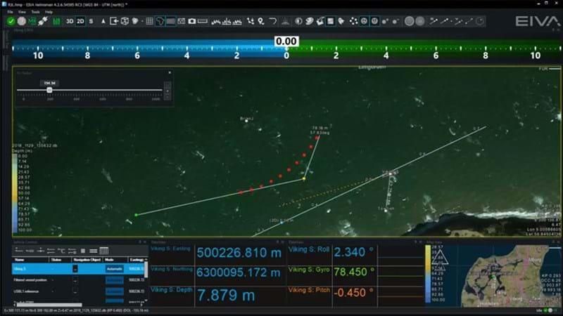 Navigation and positioning software - NaviPac