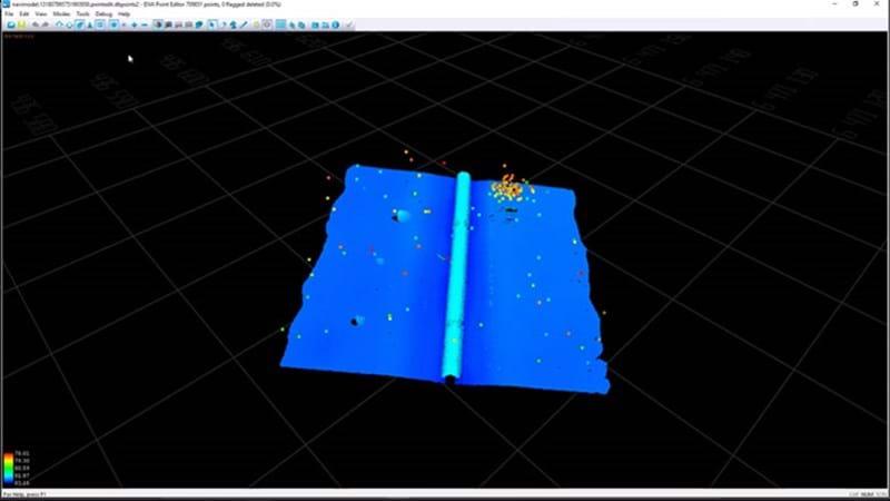 3D/4D data modelling and visualisation - NaviModel