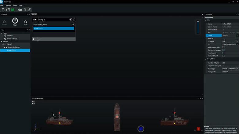 Navigation & positioning software - NaviPac Lite